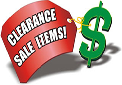Used and Clearance Specials
