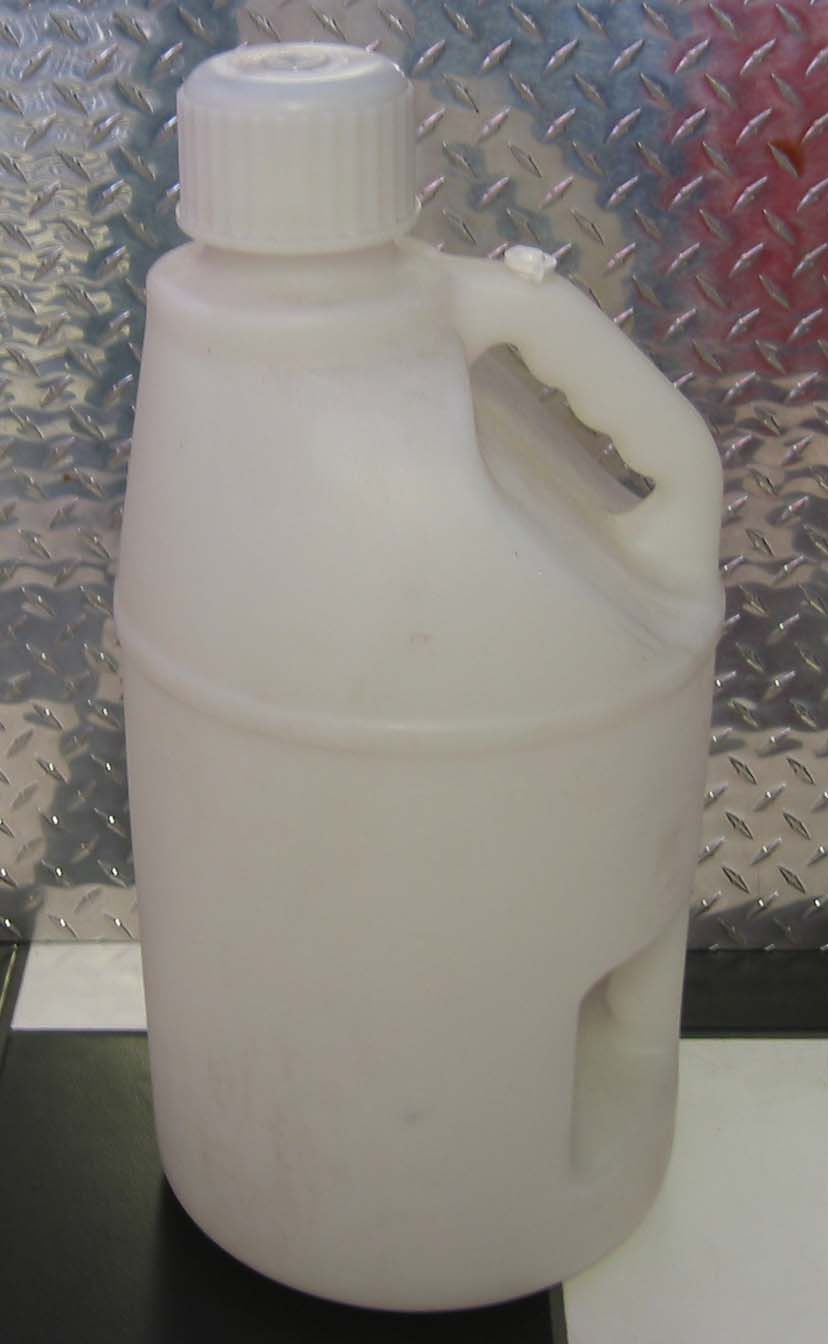 Fuel Jug - White