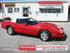 Client Gallery Red Soft Top Corvette